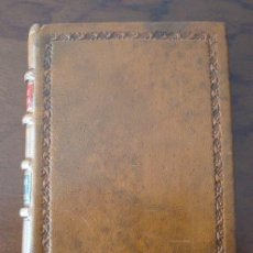 Libros de segunda mano: LAS ARMAS DE DON QUIJOTE, ENRIQUE DE LEGUINA, MINI LIBRO, 1908, FACSÍMIL. Lote 245232940