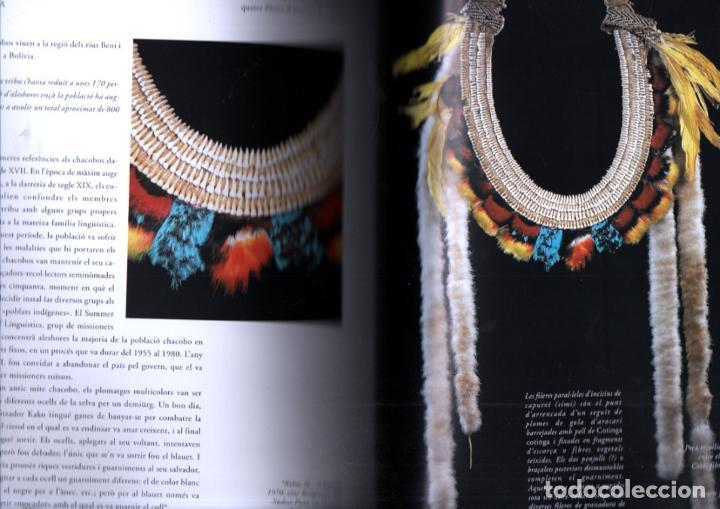 Libros de segunda mano: LART DE LA PLOMA A L AMAZONIA (CAIXA DE GIRONA, 2002) PLUMARIOS INDÍGENAS - Foto 2 - 245248240