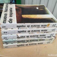 Libros de segunda mano: NUEVA HISTORIA DE ESPAÑA - 5 TOMOS - EDAF - Z106. Lote 245288180
