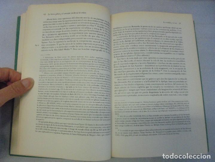 Libros de segunda mano: LA CATEDRAL GOTICA. OTTO VON SIMSON. EDITORIAL ALIANZA FORMA. 1980 - Foto 9 - 245290240