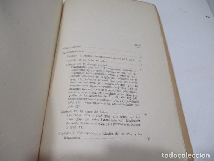 Libros de segunda mano: E. ALARCOS LLORACH Investigaciones sobre el libro de Alexandre W5566 - Foto 2 - 245360810
