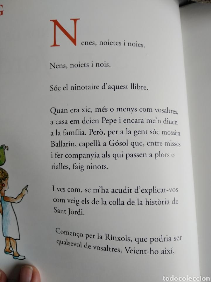 Libros de segunda mano: Llegenda de Sant Jordi - Foto 2 - 245387630