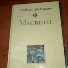 Livros em segunda mão: MACBETH. WILLIAM SHAKESPEARE. PLANETA DEAGOSTINI. EST2B3. Lote 245389840