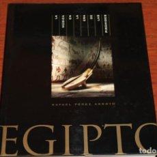 Libros de segunda mano: EGIPTO,LA MUSICA EN LA ERA DE LAS PIRAMIDES / RAFAEL PEREZ ARROYO. Lote 245428185