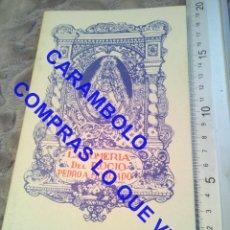 Libros de segunda mano: LA ROMERÍA DEL ROCÍO PEDRO A MORGADO LIBRO G3. Lote 245435890