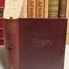 Libros de segunda mano: AÑO 1946 - OBRAS COMPLETAS DE SAAVEDRA FAJARDO - AGUILAR OBRAS ETERNAS 1ª EDICIÓN. Lote 245439240