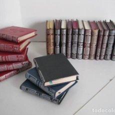Libros de segunda mano: CRISOLINES.CRISOLIN, AGUILAR. BENAVENTE, CONSTITUCIÓN 1812, UNAMUNO, BAROJA, GALDÓS, PEREDA, LARRA.. Lote 245470270