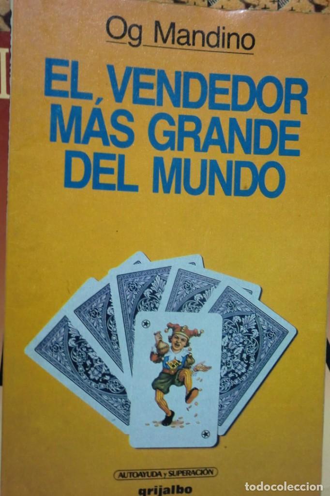 EL VENDEDOR MÁS GRANDE DEL MUNDO. OG MANDINO. (Libros de Segunda Mano - Parapsicología y Esoterismo - Otros)