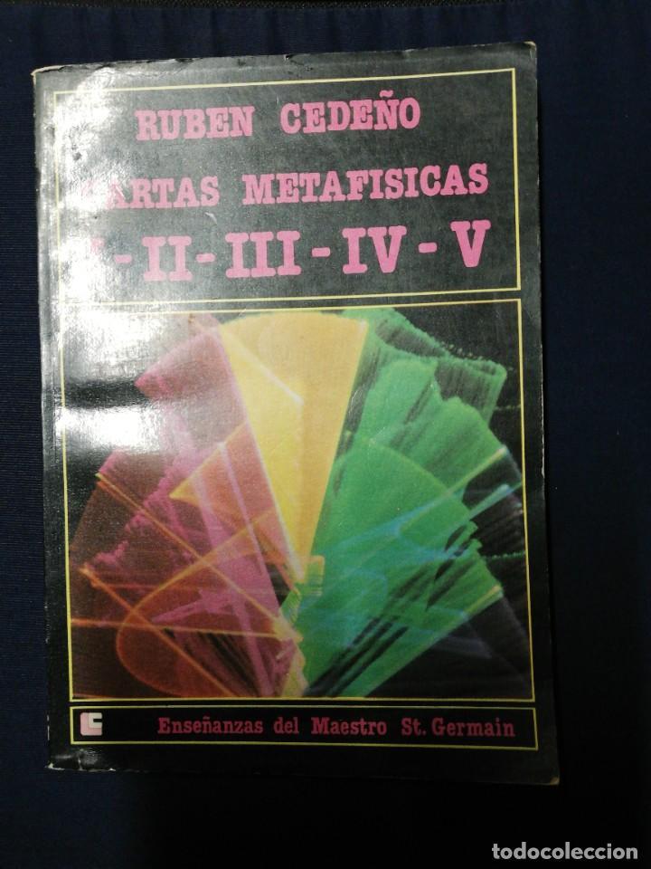 CARTAS METAFÍSICAS I-II-III-IV-V. RUBÉN CEDEÑO (Libros de Segunda Mano - Parapsicología y Esoterismo - Otros)