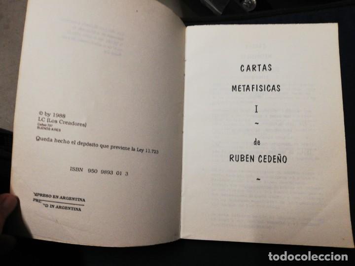 Libros de segunda mano: Cartas metafísicas I-II-III-IV-V. Rubén Cedeño - Foto 2 - 245476095