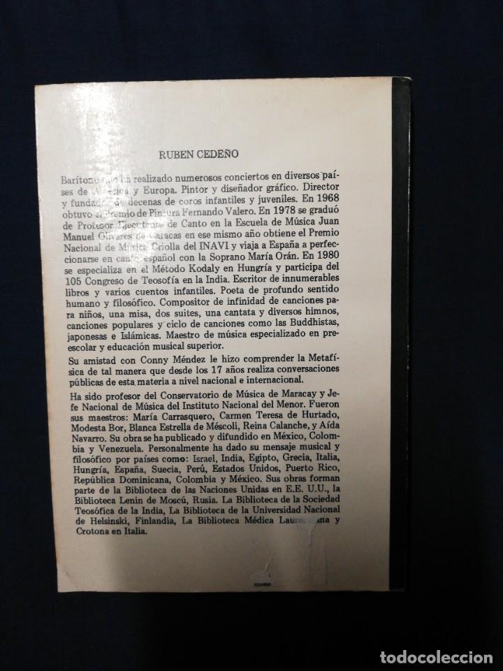 Libros de segunda mano: Cartas metafísicas I-II-III-IV-V. Rubén Cedeño - Foto 4 - 245476095