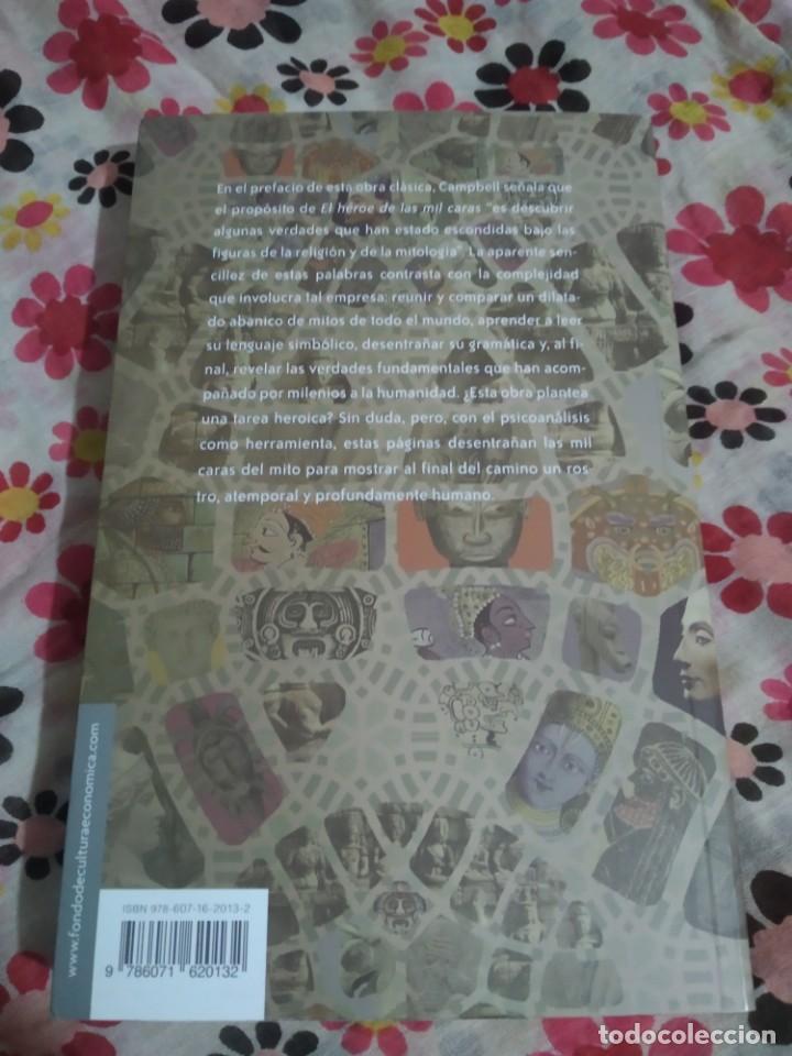 Libros de segunda mano: El héroe de las mil caras/Joseph Campbell - Foto 2 - 245487655