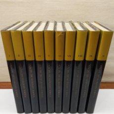 Libros de segunda mano: TESOROS ARTÍSTICOS DEL MUNDO. ENCICLOPEDIA SOBRE EL ARTE. COMPLETA 10 TOMOS. Lote 245492360