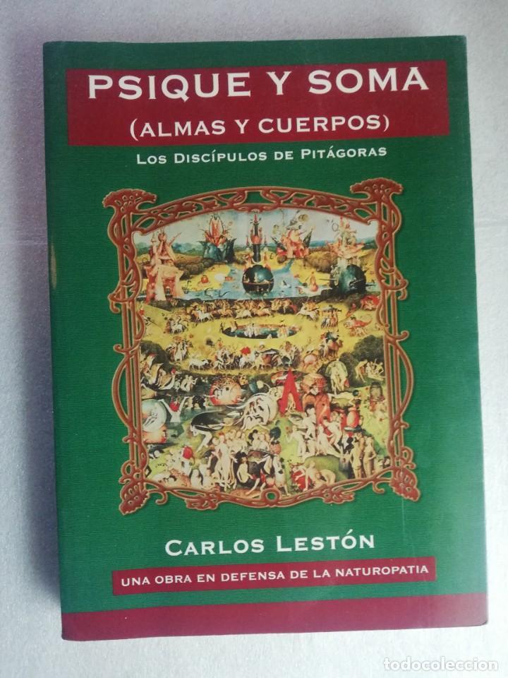 PSIQUE Y SOMA. (ALMAS Y CUERPOS). LOS DISCÍPULOS DE PITÁGORAS (Libros de Segunda Mano - Pensamiento - Otros)