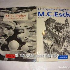 Libros de segunda mano: MC ESCHER. DOS LIBROS TASCHEN. Lote 245605600