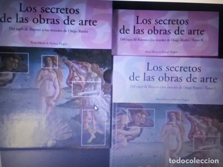 LOS SECRETOS DE LAS OBRAS DE ARTE .TASCHEN (2TOMOS COMPLETA) (Libros de Segunda Mano - Bellas artes, ocio y coleccionismo - Otros)