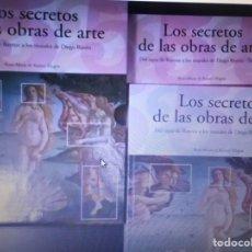 Libros de segunda mano: LOS SECRETOS DE LAS OBRAS DE ARTE .TASCHEN (2TOMOS COMPLETA). Lote 245894070