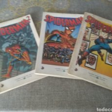 Libros de segunda mano: GRANDES HEROES DEL COMIC - BIBLITECA EL MUNDO - SPIDERMAN 2, 3 Y 4. Lote 245905745