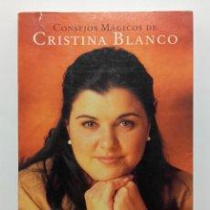 Libros de segunda mano: CONSEJOS MAGICOS DE CRISTINA BLANCO - ED. MARTINEZ ROCA. Lote 245953500