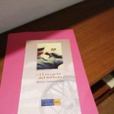 Libros de segunda mano: EL RECURSO DEL MÉTODO. ALEJO CARPENTIER. Lote 245982905