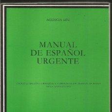 Libros de segunda mano: AGENCIA EFE. MANUAL DE ESPAÑOL URGENTE. CATEDRA. Lote 246052080