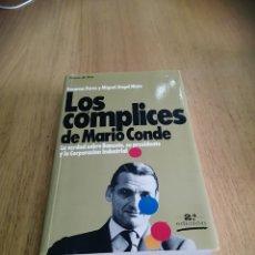Libros de segunda mano: COLECCIÓN GRANDES TEMAS LOS CÓMPLICES DE MARIO CONDE. Lote 246052770