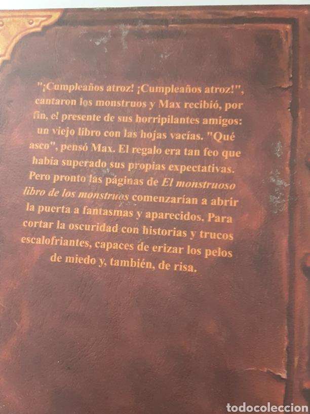 Libros de segunda mano: El monstruoso libro de los monstruos - Foto 2 - 246054015