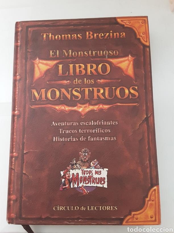 EL MONSTRUOSO LIBRO DE LOS MONSTRUOS (Libros de Segunda Mano - Literatura Infantil y Juvenil - Otros)