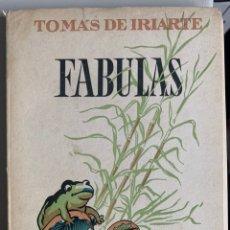 Libros de segunda mano: FABULAS. TOMAS DE IRIARTE. Lote 246081025