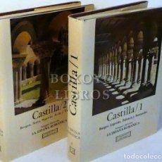 Libros de segunda mano: LOJENDIO, LUÍS MARÍA / RODRÍGUEZ, ABUNDIO. LA ESPAÑA ROMÁNICA. CASTILLA 1 Y 2. Lote 246094760