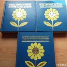 Libros de segunda mano: 3 ENCICLOPEDIAS INFANTILES DE BIBLIOTECA CULTURAL CARROGGIO. Lote 246160920