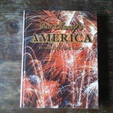 Libros de segunda mano: WALT DISNEY'S AMERICA CHRISTOPHER FINCH ABBEVILLE PRESS 1978 LIBRO EN INGLÉS CON FOTOGRAFÍAS. Lote 246187515