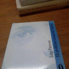 Libros de segunda mano: PAREYSON LUIGI, ELS PROBLEMES ACTUALS DE L'ESTÈTICA, UNIVERSITAT DE VALÈNCIA, 1997. Lote 246188925