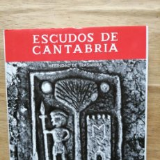 Libros de segunda mano: ESCUDOS DE CANTABRIA, MERINDAD DE TRASMIERA, CARMEN GONZÁLEZ ECHEGARAY.. Lote 246193520