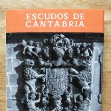 Libros de segunda mano: ESCUDOS DE CANTABRIA. CARMEN GONZÁLEZ ECHEGARAY.. Lote 246193755