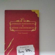 Livres d'occasion: ANIMALES FANTASTICOS Y DONDE ENCONTRARLOS (PROPIEDAD DE HARRY POTTER) ED.SALAMANDRA. Lote 246272025