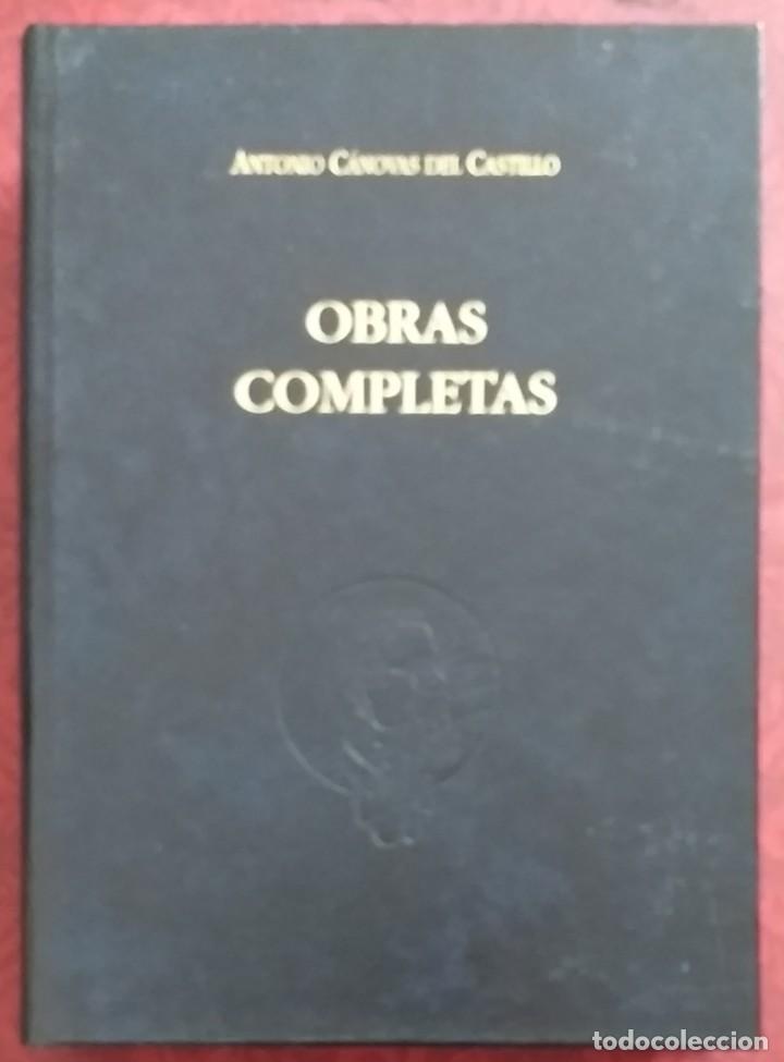 OBRAS COMPLETAS CÁNOVAS DEL CASTILLO. TOMO VII. VOLUMEN 10. INTERVENCIONES PARLAMENTARIAS III. 1997. (Libros de Segunda Mano (posteriores a 1936) - Literatura - Otros)