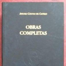 Libros de segunda mano: OBRAS COMPLETAS CÁNOVAS DEL CASTILLO. TOMO VII. VOLUMEN 10. INTERVENCIONES PARLAMENTARIAS III. 1997.. Lote 246355345
