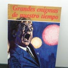 Libros de segunda mano: GRANDES ENIGMAS DE NUESTRO TIEMPO. EDITORIAL FHER 1978 (ENVÍO 2,50€). Lote 245918020