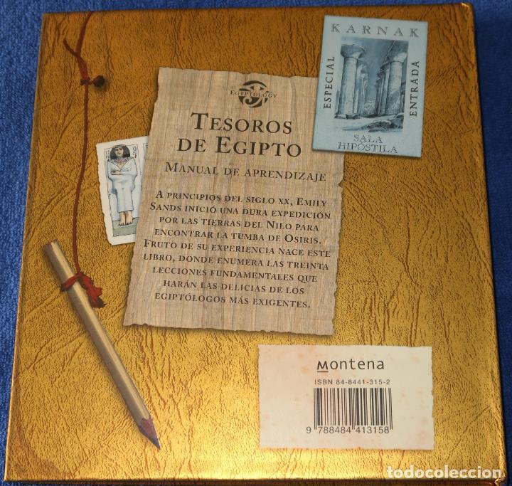 Libros de segunda mano: Tesoros de Egipto - Manual de aprendizaje - Montena (2006) - Foto 9 - 246366530
