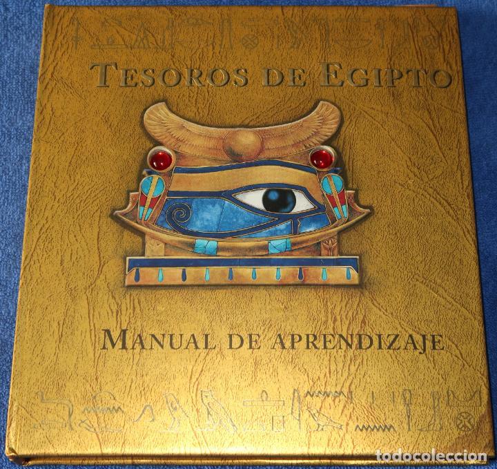 TESOROS DE EGIPTO - MANUAL DE APRENDIZAJE - MONTENA (2006) (Libros de Segunda Mano - Literatura Infantil y Juvenil - Otros)
