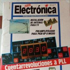 Libros de segunda mano: NUEVA ELECTRÓNICA CUENTARREVOLUCIONES A PLL. ENVÍO CERTIFICADO 4,99. Lote 246479540