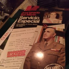 Libros de segunda mano: JOSÉ IGNACIO SAN MARTÍN. SERVICIO ESPECIAL. PLANETA 1983. Lote 246587260