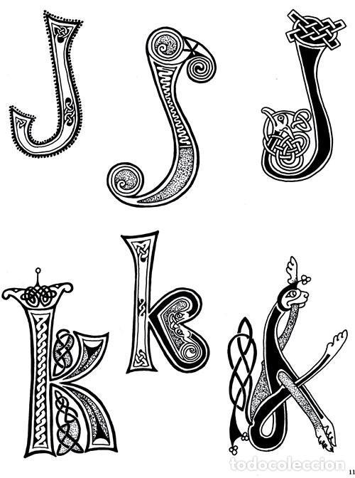 Libros de segunda mano: M84 - CELTA. ARTE. PATRONES. PLANTILLAS. FIGURAS. MOTIVOS. BORDES. SOURCE BOOK. CELTA. - Foto 12 - 246780235