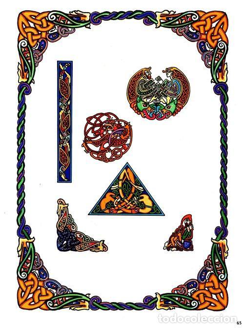 Libros de segunda mano: M84 - CELTA. ARTE. PATRONES. PLANTILLAS. FIGURAS. MOTIVOS. BORDES. SOURCE BOOK. CELTA. - Foto 15 - 246780235