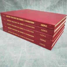 Libros de segunda mano: MÉTODO PRÁCTICO DE CORTE Y CONFECCIÓN - ED. CEPC - 10 VOLÚMENES EN 5 TOMOS - OBRA COMPLETA. Lote 246970585