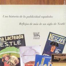 Libros de segunda mano: UNA HISTORIA DE LA PUBLICIDAD ESPAÑOLA. REFLEJOS DE MÁS DE UN SIGLO. LIBRO GRAN TAMAÑO TAPA DURA.. Lote 247100865