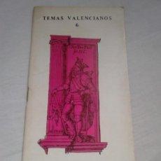 Libros de segunda mano: VALENCIA Y LA CASA DE AUSTRIA - GARCÍA MARTÍNEZ, SEBASTIÁN, TEMAS VALENCIANOS N.º 6. Lote 100484919