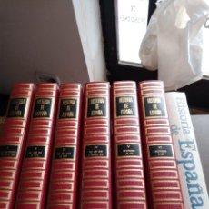 Libros de segunda mano: HISTORIA DE ESPAÑA: 7 TOMOS DE ED. PLAZA Y JANE Y ED. SOPENA. Lote 247396450