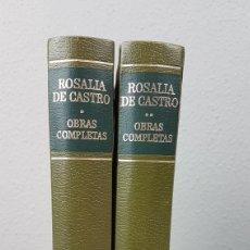 Libros de segunda mano: OBRAS COMPLETAS DE ROSALIA DE CASTRO. AÑO 1977. Lote 247460085